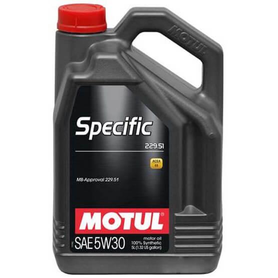 MOTUL Specific MB 229.51 5W-30 - 5 л.